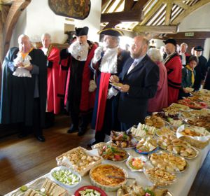 Court Leet church service reception